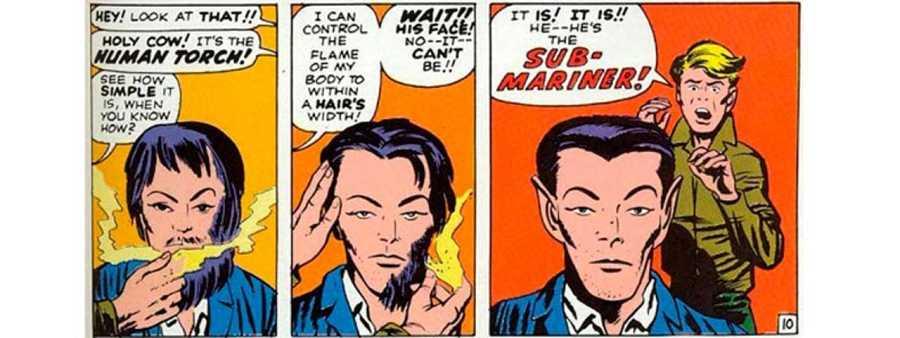 La reintroducción de Namor en el Universo Marvel en el nº 4 de 'Los 4 Fantásticos'