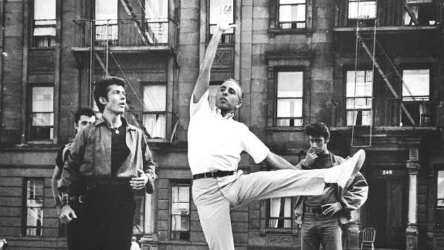 El coreógrafo Jerome Robbins