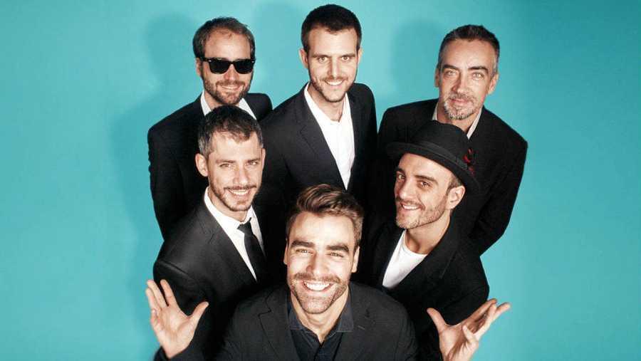 Alberto Palacios, Gabri Casanova, Javier Geras, Javier Skunk, Alberto Arteta y Javier Martínez forman Anaut