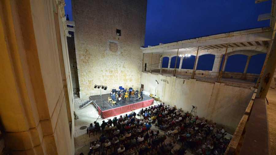 Festival de Música Renacentista y barroca en el patio del Castillo de Vélez Blanco