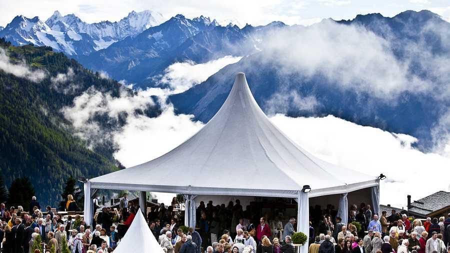 El Festival de Vervier, en los Alpes suizos