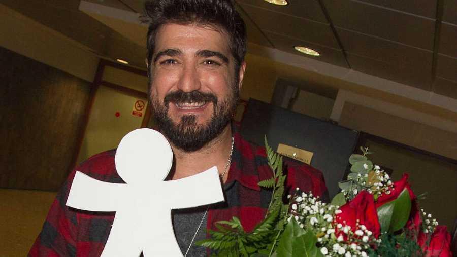 Antonio Orozco, víctima 'inocente' el pasado enero