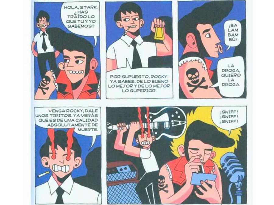 Viñetas de 'Peligro de muerte', de Chema Cebolla