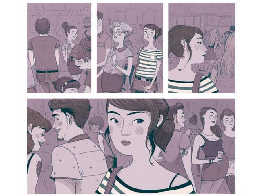 Viñetas de 'Todos los jueves', de Luis Ponce y Laura Pérez