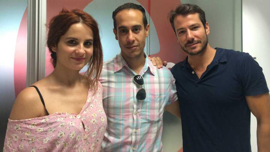 Esther Isla, José Gómez y Alejandro Albarracín, en RNE