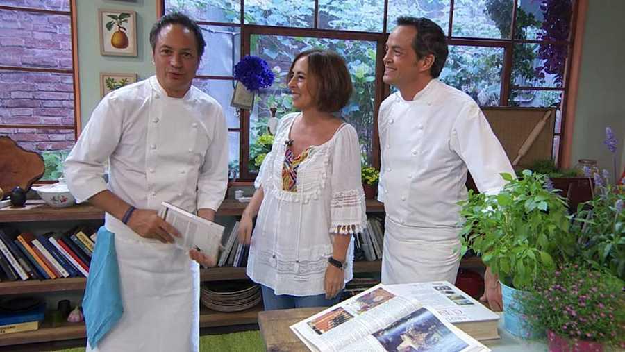 Cristina Jolonch, crítica gastronómica, visita Torres en la cocina