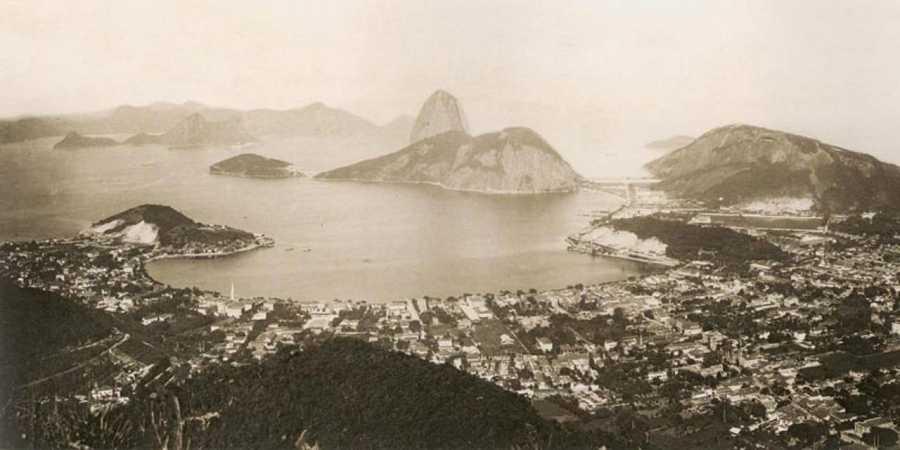 Vista general de Río de Janeiro en 1889