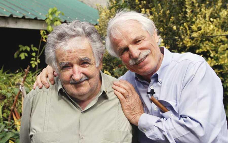 José Mugica (Izqda.) y Yann Arthus-Bertrand (Dcha.)
