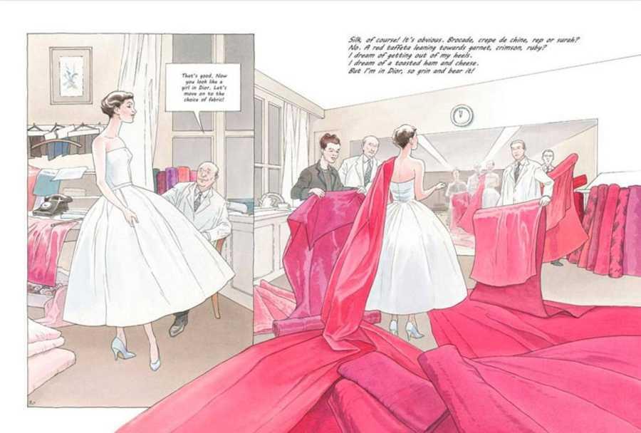 Páginas de 'Una chica Dior'