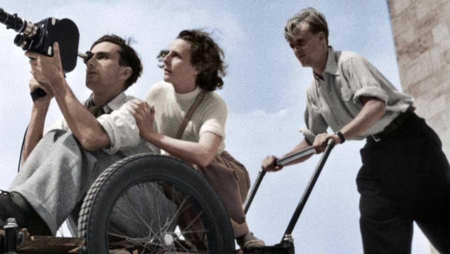 La cineasta Leni Riefenstahl dirigió las mejores películas de la Alemania Nazi