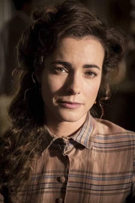 La actriz María Cotiello