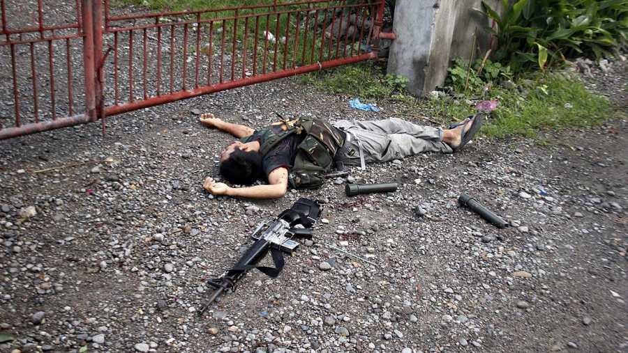 Un hombre armado fallecido tras una operación antidroga en la residencia de un alcalde filipino en Leyte (Filipinas)