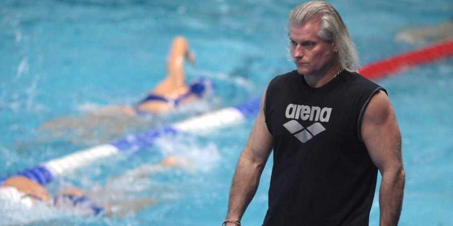 Phillipe Lucas, entrenador de la nadadora Laure Manaudou