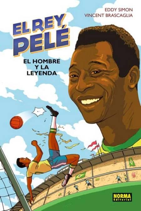 Portada de 'El rey Pelé. El hombre y la leyenda'