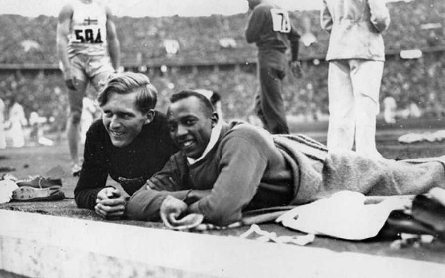 Lutz Long y Jesse Owens, los atletas que desafiaron al nazismo