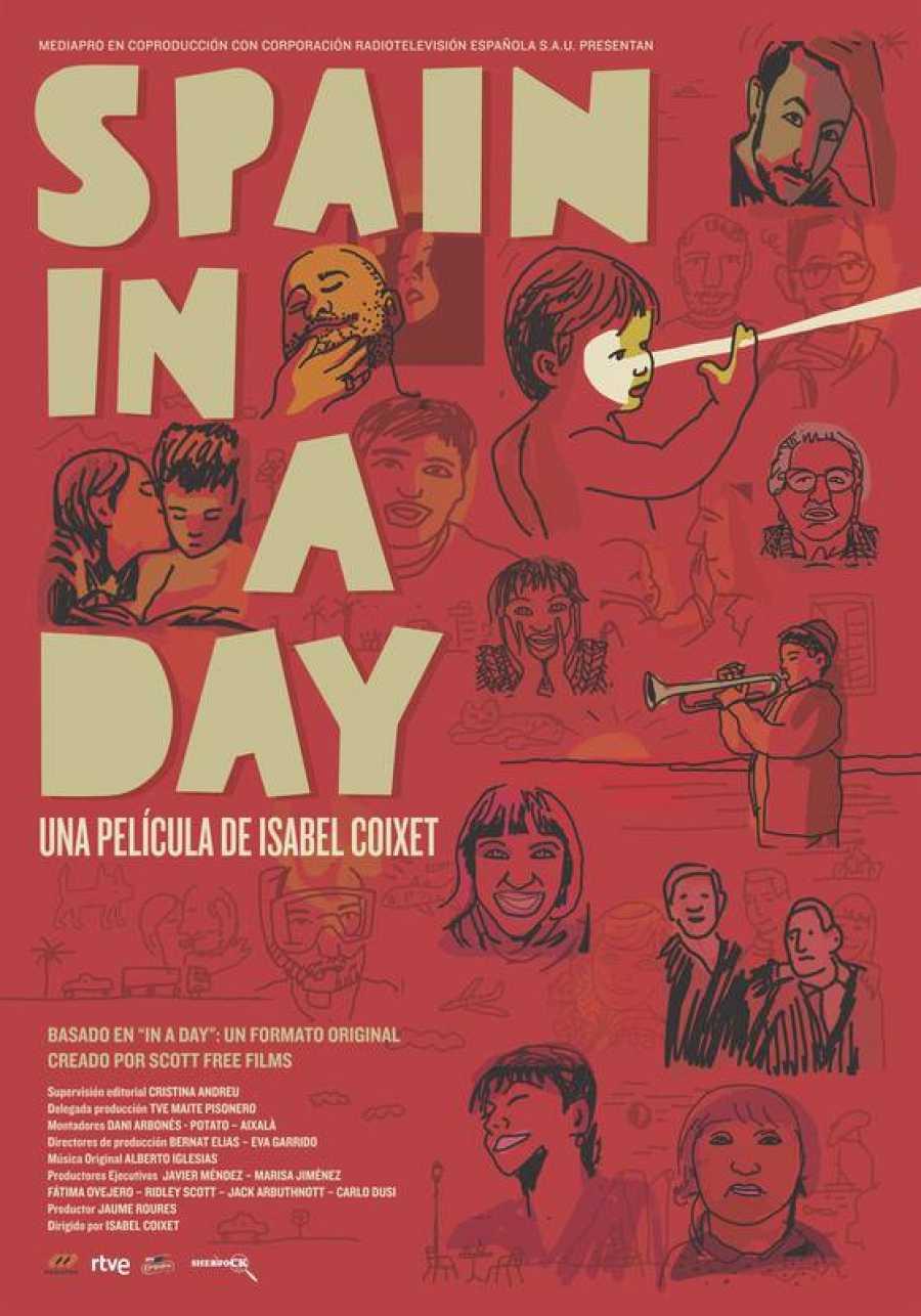 Cartel definitivo de 'Spain in a day'