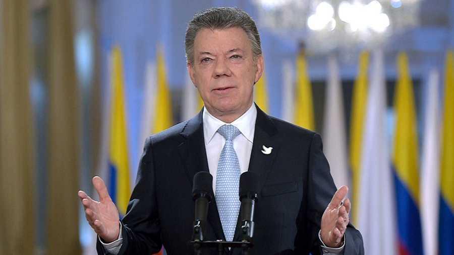 El presidente de Colombia, Juan Manuel Santos, se ha dirigido al país tras la firma del acuerdo de paz con las FARC.
