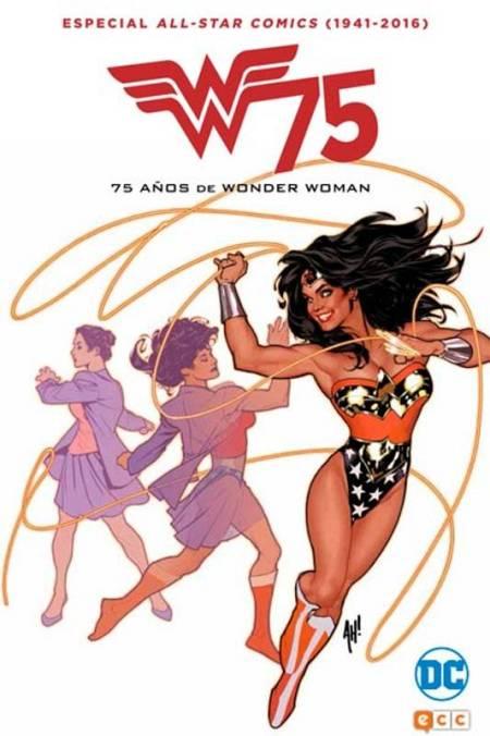 Portada de 'All-Star Comics (1941-2016): 75 años de Wonder Woman'