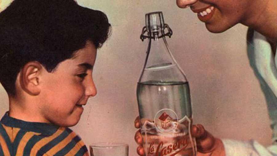 Anuncio antiguo de La Casera, una marca con 66 años de historia
