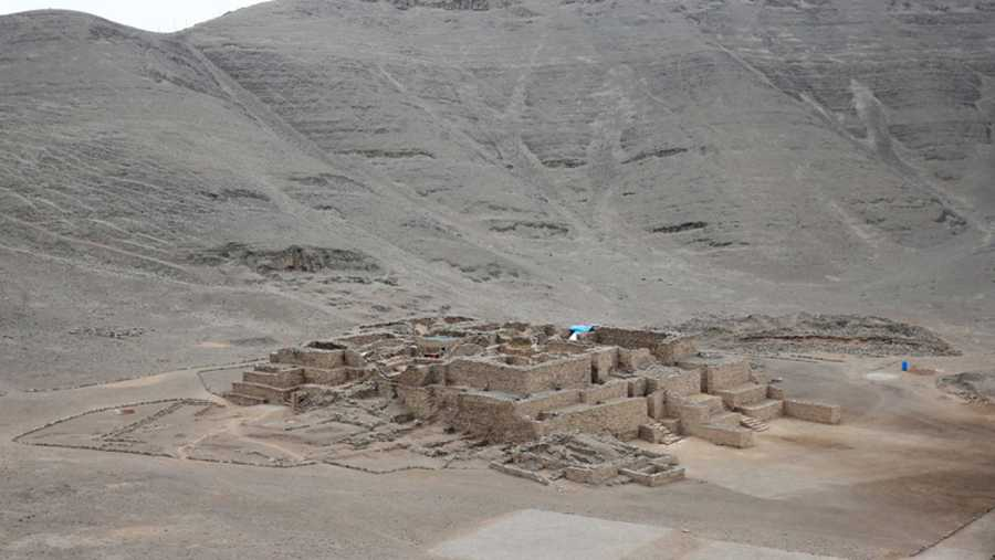 Complejo arqueológico El Paraíso, en Lima (Perú)