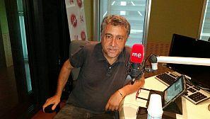 Antonio Chavarrías, en los estudios de RNE.