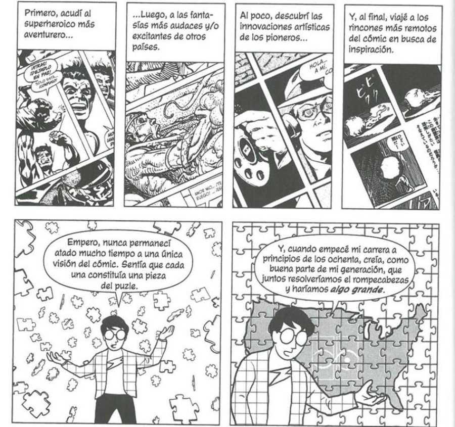 Viñetas de 'Reinventar el cómic'