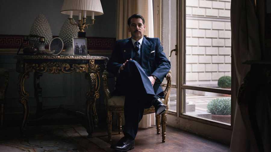 Eduardo Noriega es Rafael Figueroa en 'La sonata del silencio'