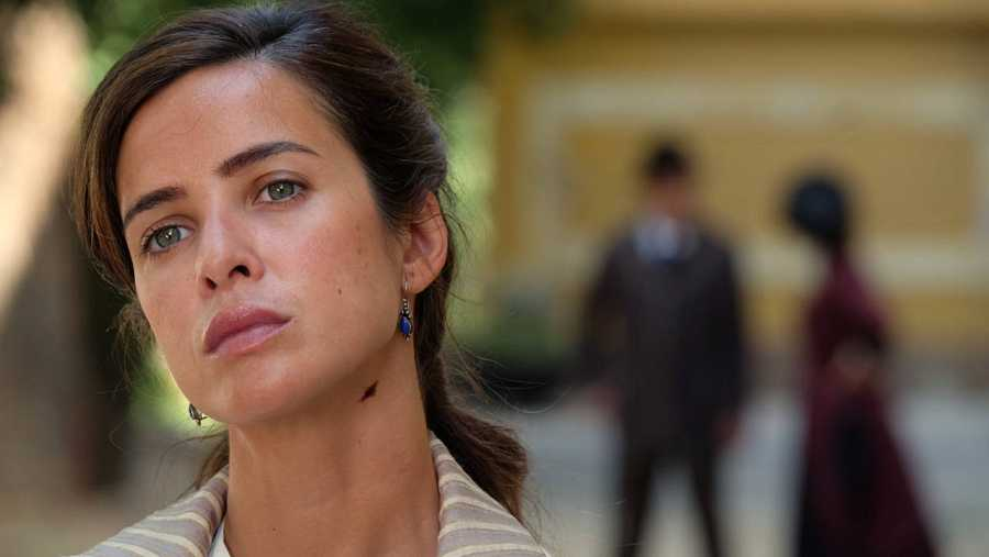 Paula Prendes es una de las nuevas incorportaciones en esta segunda temporada de 'Víctor Ros'.