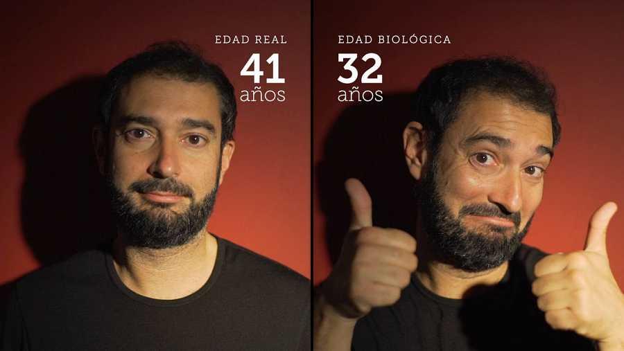 La edad real y la edad biológica de nuestro presentador, Pere Estupinyà, no coinciden
