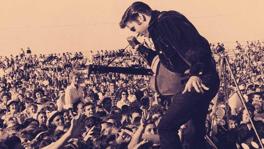 Elvis Presley (Tupelo, Misisipi, 1935-Memphis, Tennessee, 1977)