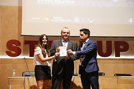 Juanma Romero, director de 'Emprende', ha recogido hoy el galardón