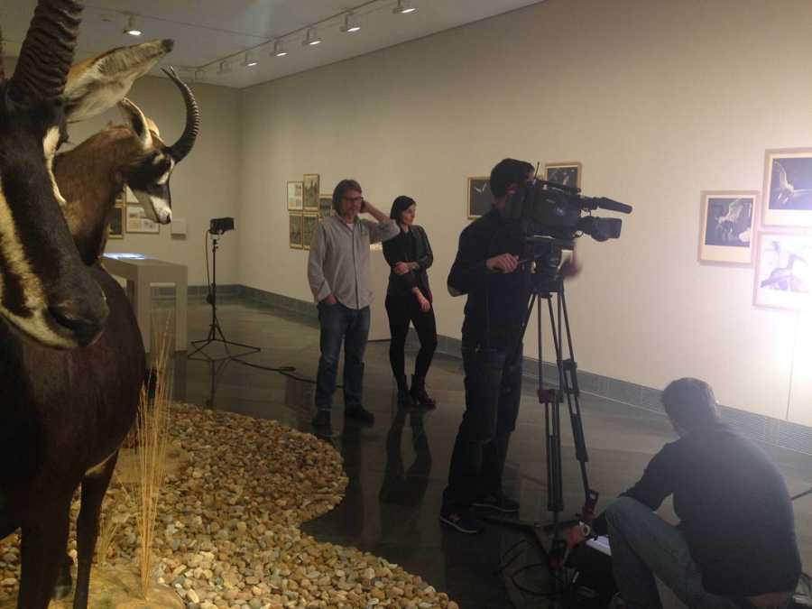 En la exposición antológica de Joan Fontcuberta en la Universidad de Pamplona