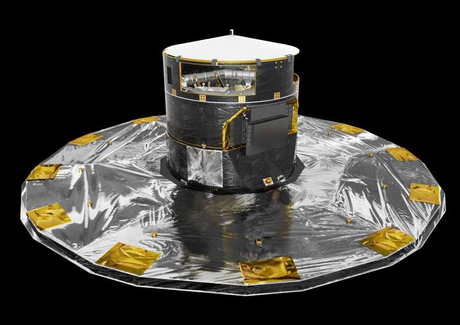 Una imagen del satélite 'Gaia'