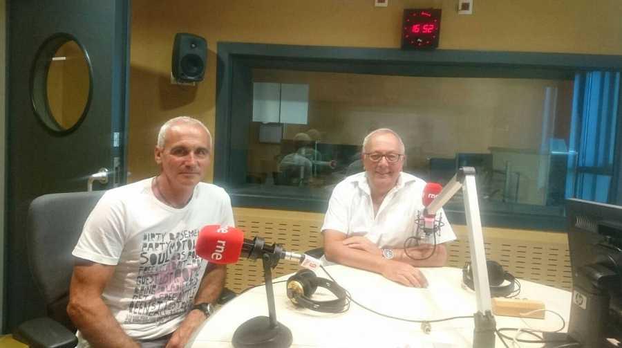 Jaume Llansana y Ángel Aguirre, desde Rne Barcelona