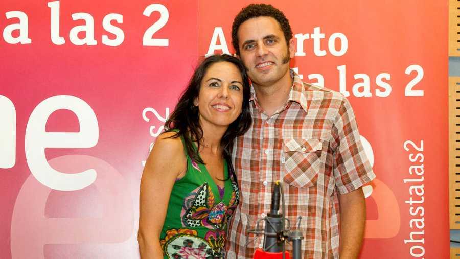 Paloma Arranz, con Depedro
