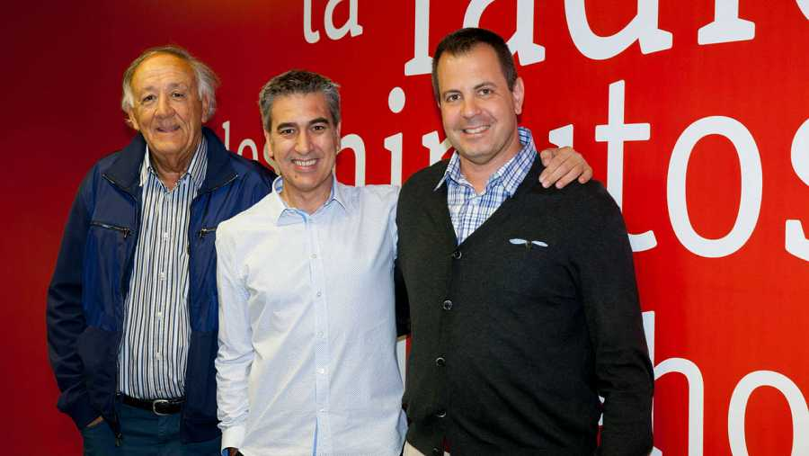Francisco Valero, José Miguel Viñas y Arturo Martín, en Rne Madrid