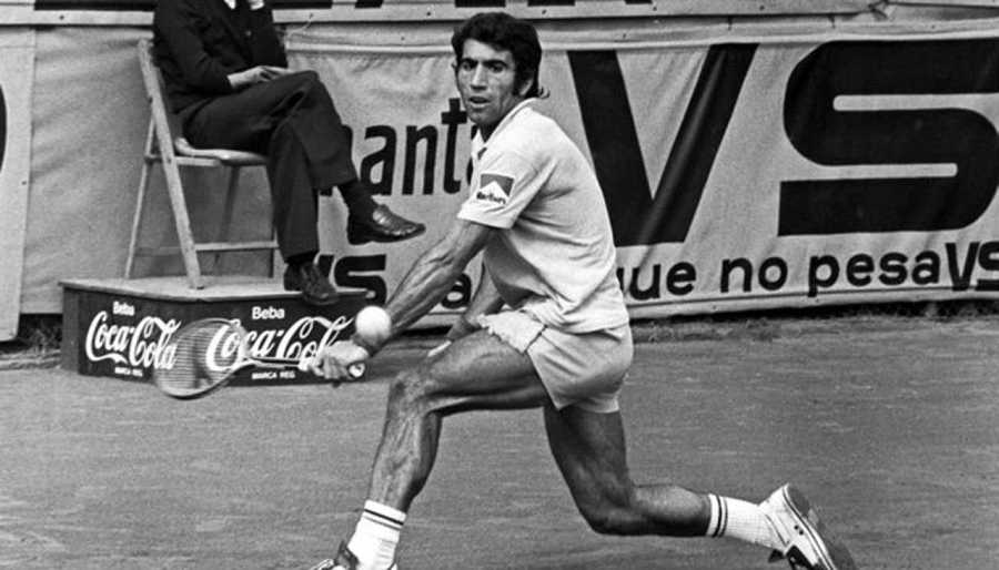Manuel Orantes ganó el trofeo Conde de Godó en 1969