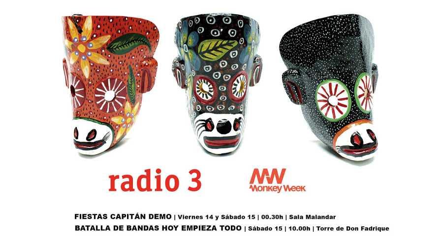 radio3 monkey week 2016
