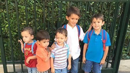 Los cinco hermanos, protagonistas en este programa sobre familias múltiples