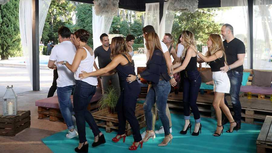 Los concursantes de OT bailan en el reecuentro