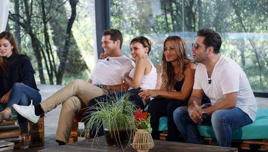 Chenoa, Manu Tenorio, Verónica y Bustamante en el reencuentro de OT.