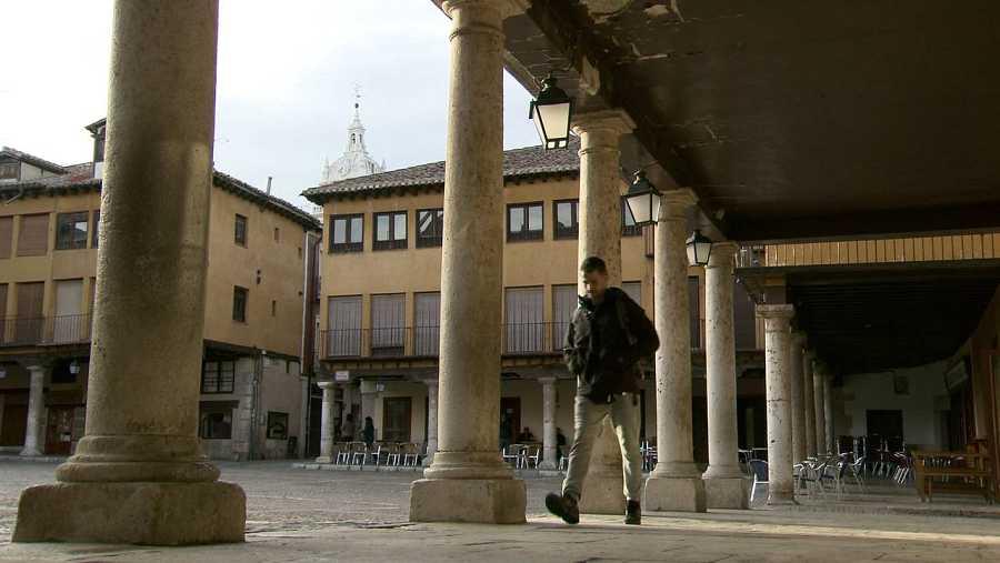 Comenzamos nuestra andadura en Tordesillas