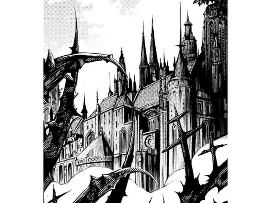 Fragmento de una ilustración de 'Ad Mortem'