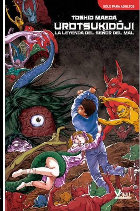 Portada de la edición española de 'Urotsukidóji'