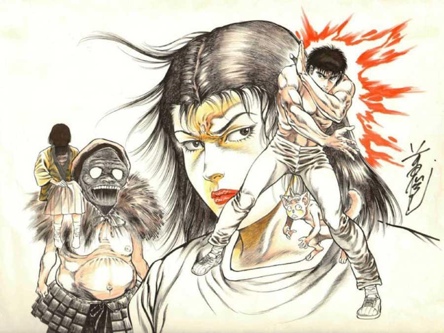 Ilustración de 'Urotsukidóji'