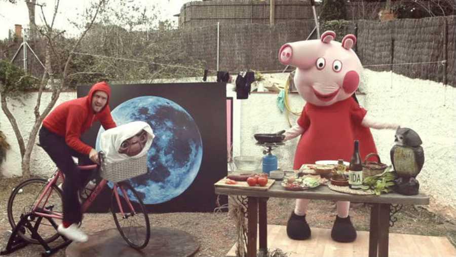 El videoclip de la canción