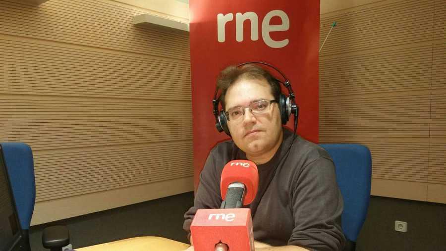 Alejandro Polanco, en la emisora de Valladolid