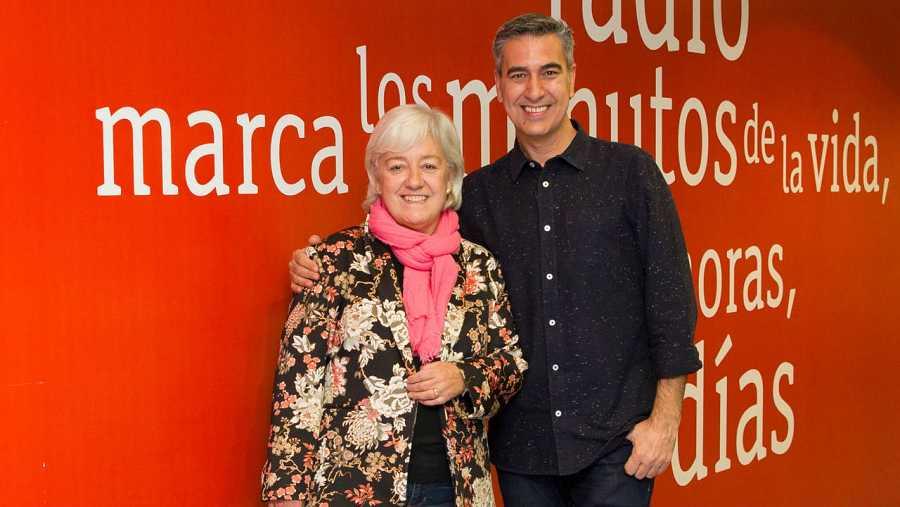 Arturo Martín, con María Ángeles Moreno en Rne Madrid