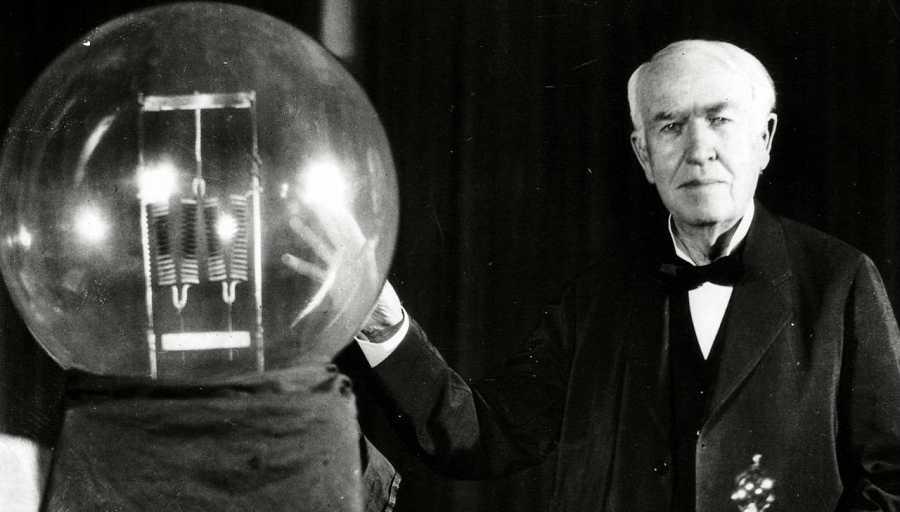 Thomas Alva Edison, padre de la electricidad, patentó más de mil inventos