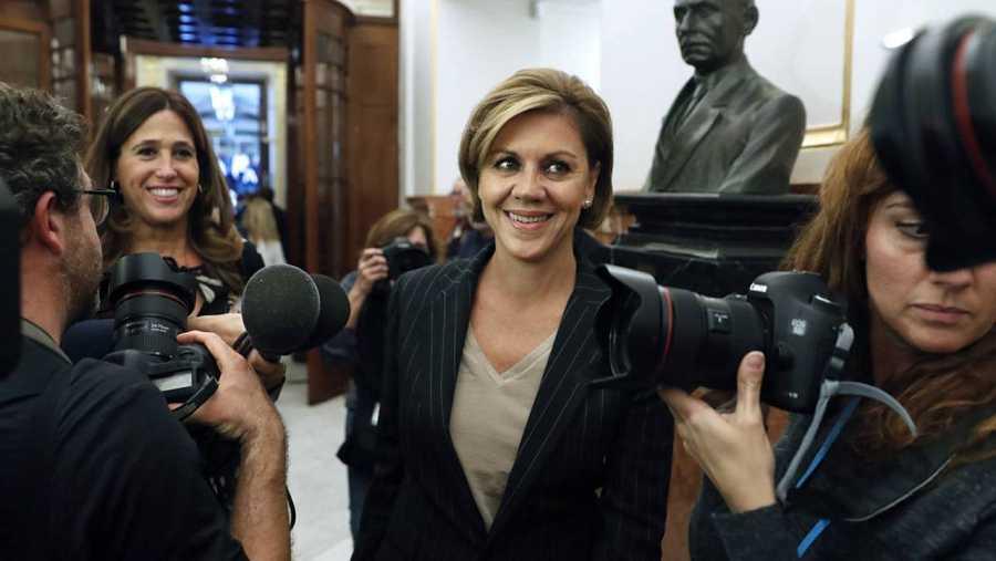 María Dolores de Cospedal, nueva ministra de Defensa.
